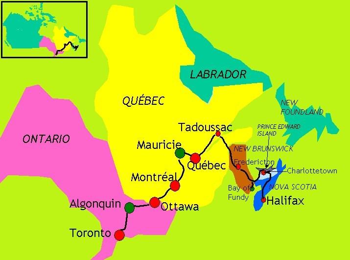 Le Québec - Canada
