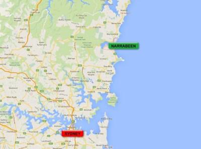 Carte Sydney - Narrabeen