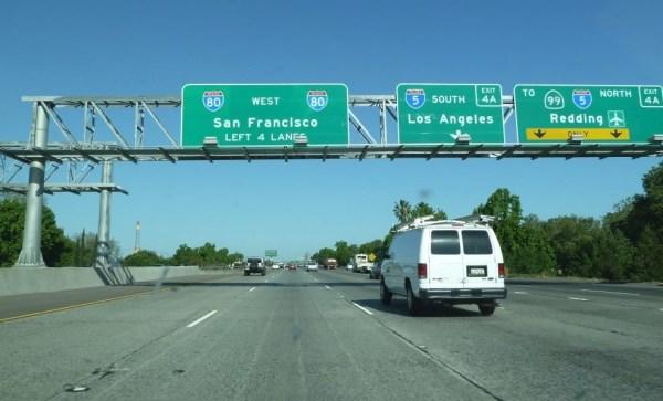 Arrivée sur San Francisco - Californie (USA)