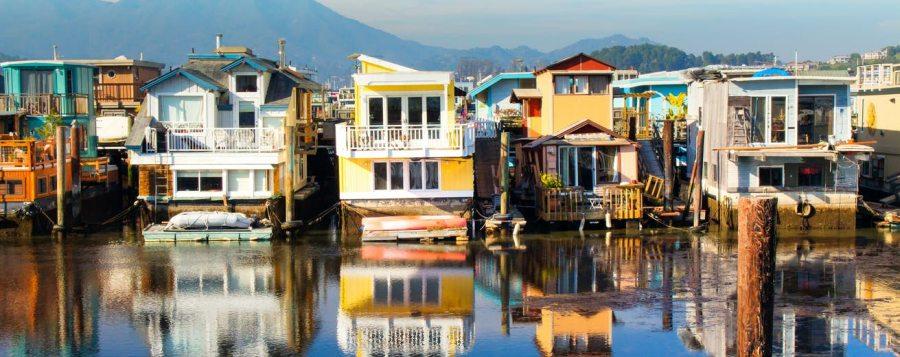 Les Houseboats de Sausalito - San Francisco (Californie)