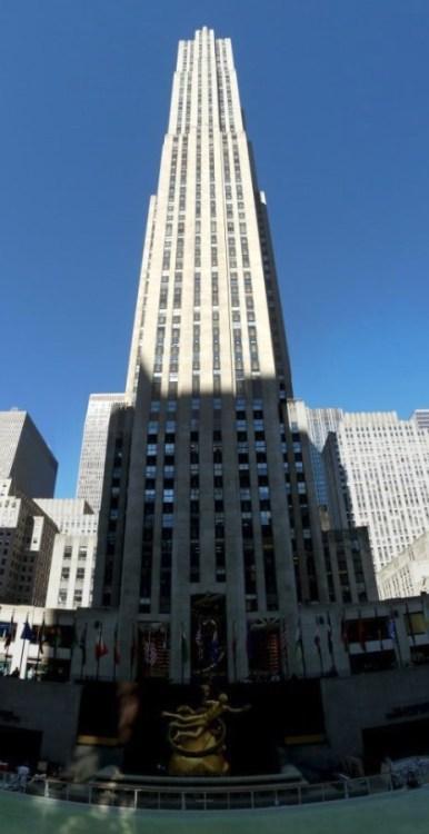 La tour de Rockefeller Center - New York