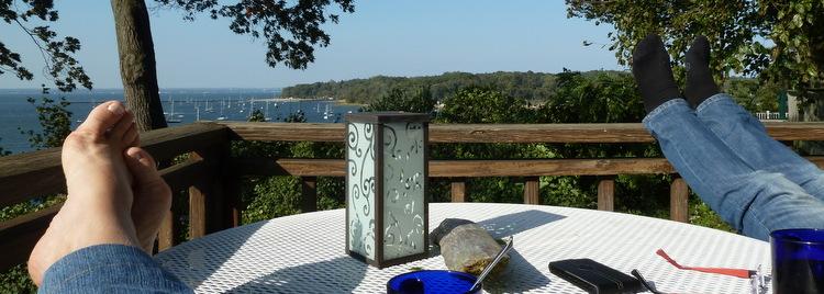 Repos et détente à Sea Cliff - Long Island (New York)