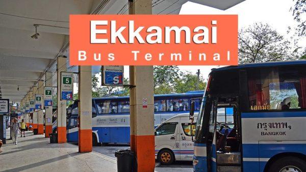 La station de bus d'Ekkamai - Bangkok