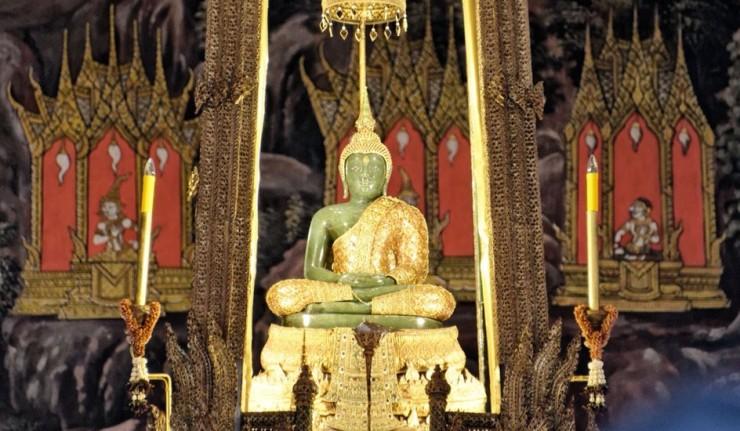 Le Bouddha d'Emeraude - Bangkok (Thaïlande)