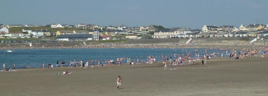 La plage de Quilty - Comté de Clare (Irlande)