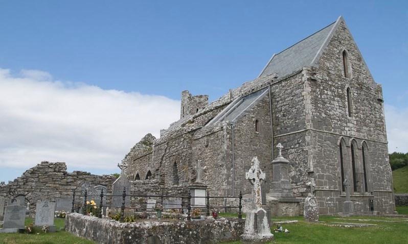 L'abbaye de Corcomroe - Burren (Irlande)