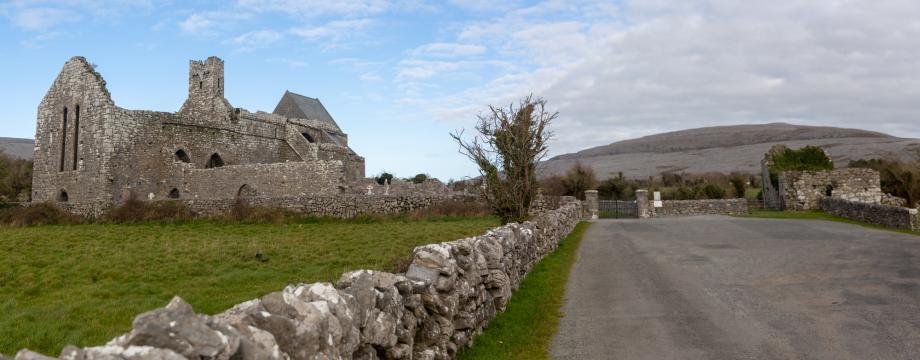 L'abbaye de Corcomroe - Comté de Clare (Irlande)