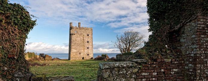 Le château de Carrigaholt - Irlande