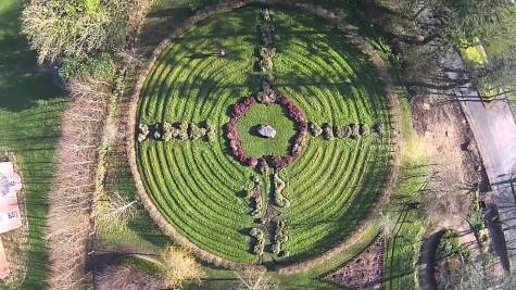 Le labyrinthe de Mountshannon - Lough Derg (Irlande)