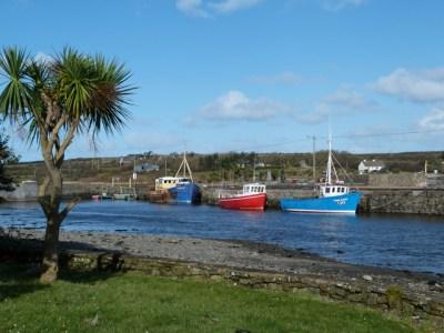 Le petit port de Carrigaholt - Irlande