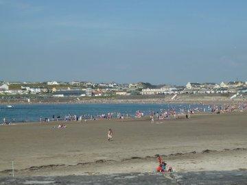 La plage de Kilkee - Irlande