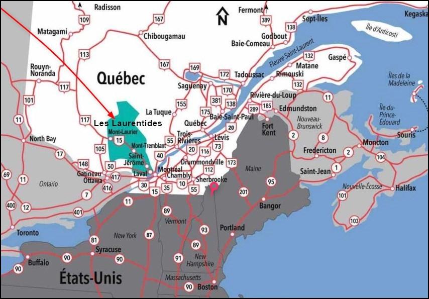 Les Laurentides - Québec