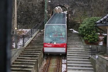 Funiculaire du Mont Floien - Bergen (Norvège)