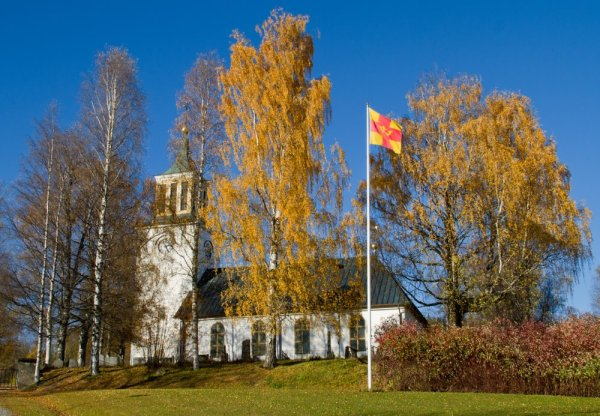 L'église de Dorotea - Suède