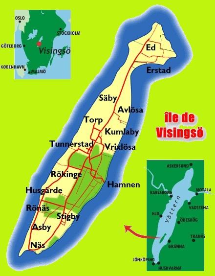 île de Visingsö - Suède