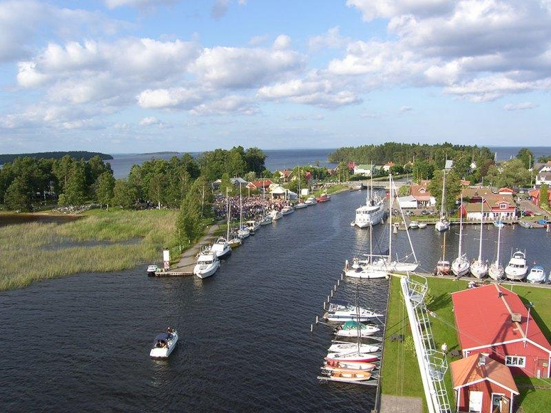 Le canal Göta - Suède