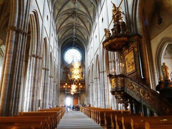 La cathédrale d'Uppsala - Suède