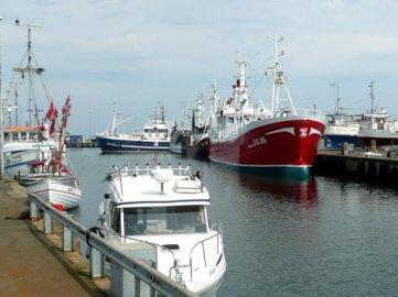 Le port de Simrishamn - Suède