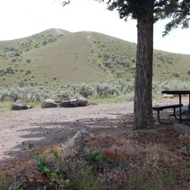 Au Mammoth Hot Springs Campground - Yellowstone NP