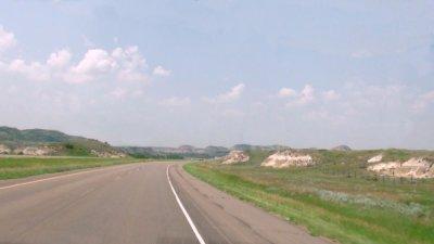 Paysages entre Fargo et Bismarck