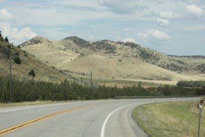 Route au Montana - USA