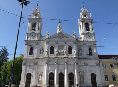La basilique d'Estrela
