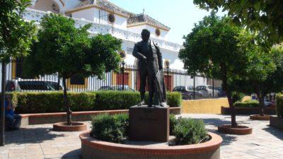 Statue d'un torero céllèbre