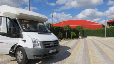 Aire de camping-car d'Ubeda