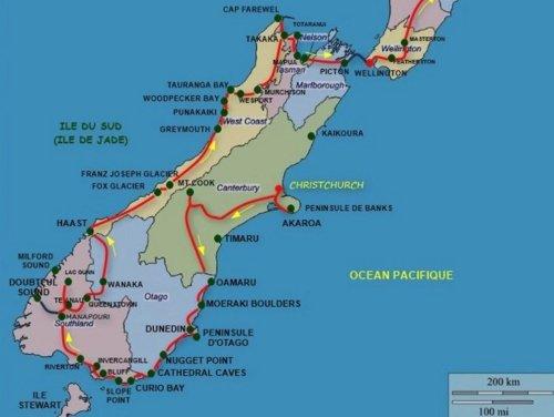 Circuit Nouvelle Zélande 2016 - île du Sud