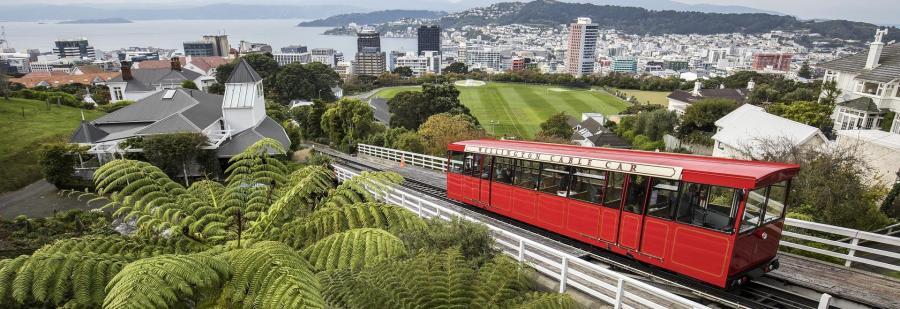 The Cable-Car - Wellington (NZ)