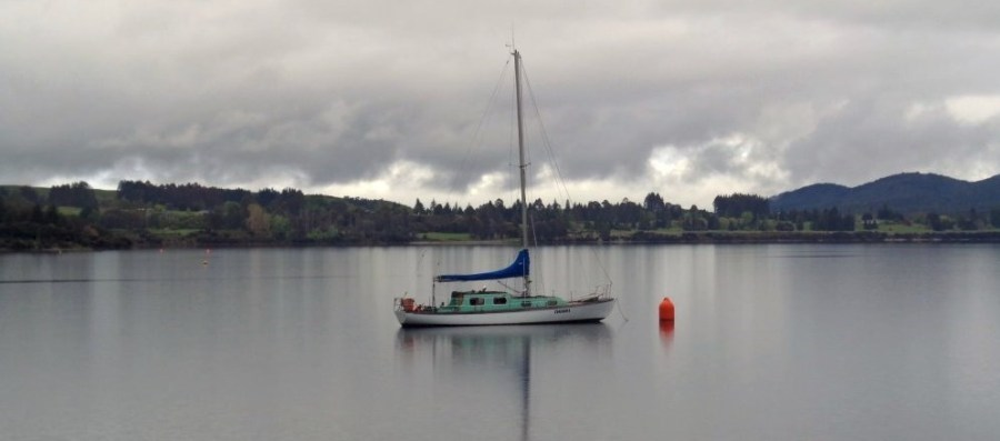 Sur le lac de Te Anau - NZ