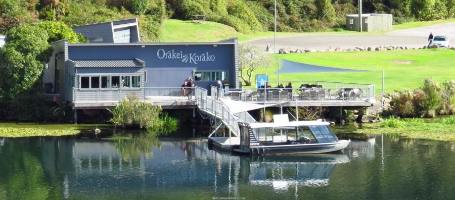 Visitor Centre Orakei Korako - NZ