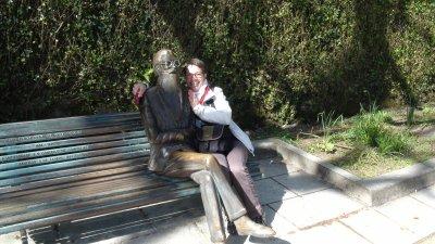 St Jacques de Compostelle - Myriam et son copain