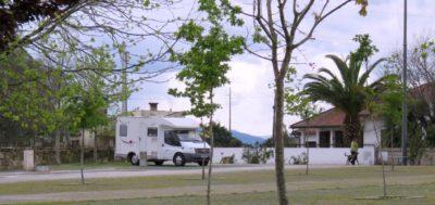 Sur l'aire de camping-car de Soajo