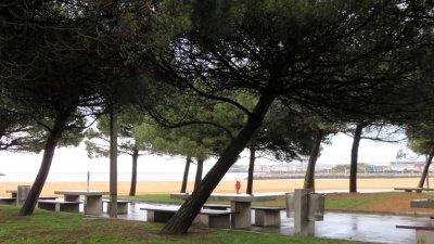 Aire de camping-car à Gijon