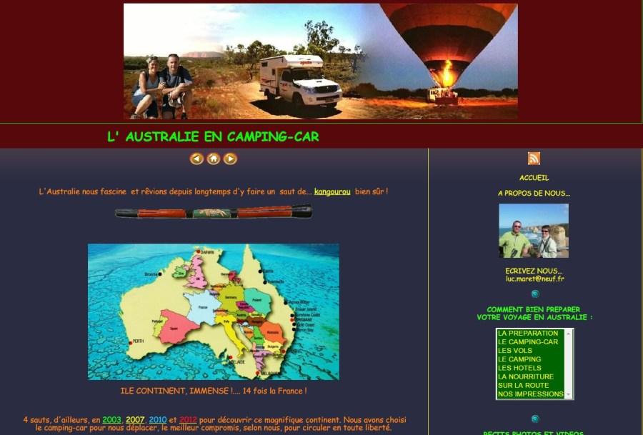 L'Australie en camping-car