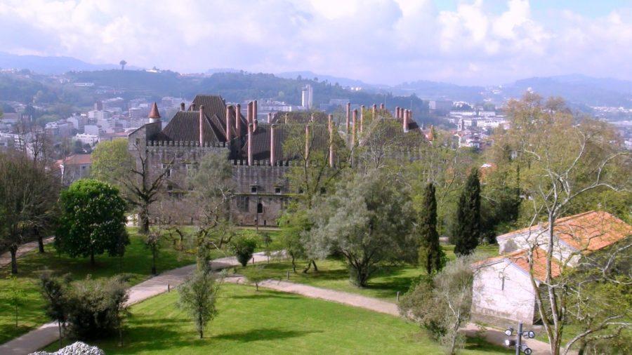 Guimaraes - Vue depuis le château