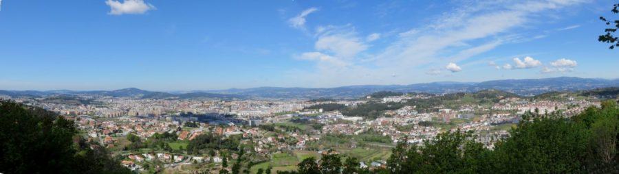 Braga vue du Bom Jesus