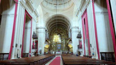 Coïmbra - l'église de Santa Cruz