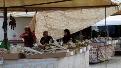 Ponte da Barca - le marché