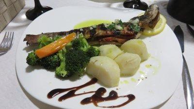 Copieux repas à Bragança
