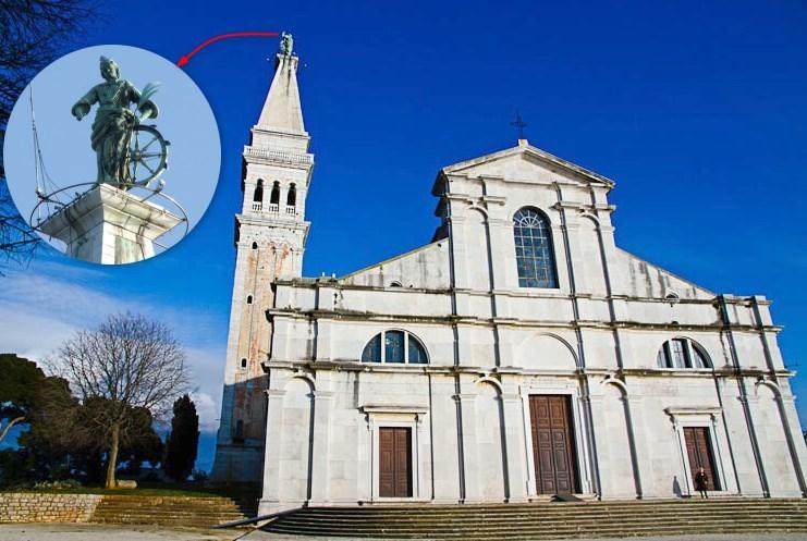 Eglise Sainte Euphémie de Rovinj