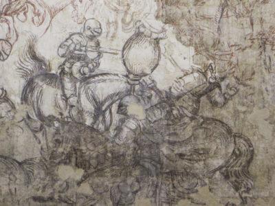 Fresque de la salle des papes du palais ducal de Mantoue