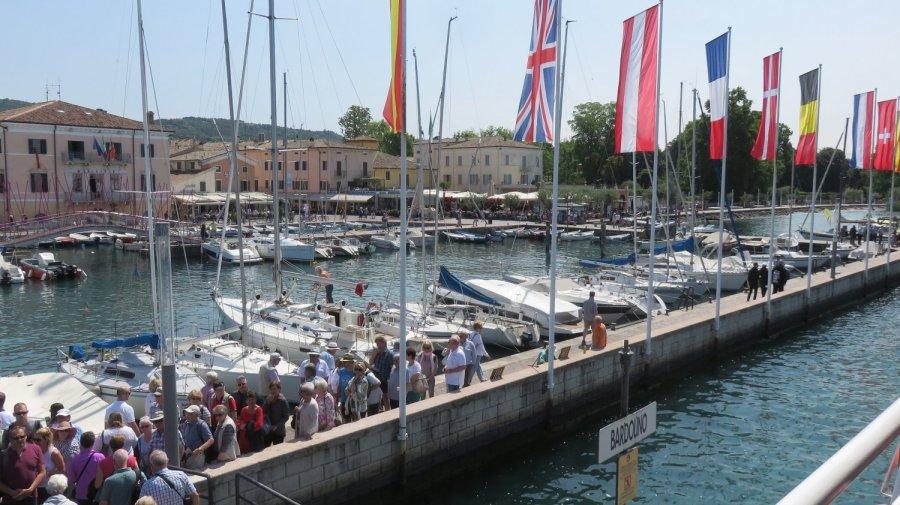 L'embarcadère de Bardolino