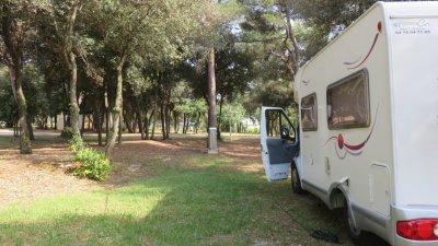 Au camping Amarin de Rovinj