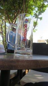 Pot en terrasse sur le port de Skradin