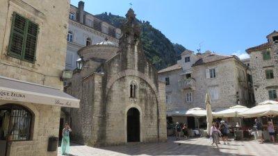 L'église St Luc de Kotor - Monténégro