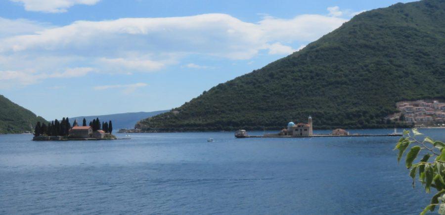 L'îlot St Georges et Notre Dame du Rocher - Perast (Monténégro)