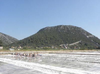 La saline de Ston - Croatie