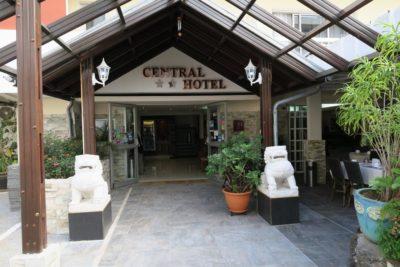 Le Central Hôtel de St Denis (Réunion)